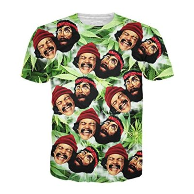 Cheech-Chong-T-shirt-Drug-Marijuana-Weed-3D-Printed-Summer-Style-Top-0