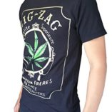 Gs-eagle-Mens-Printed-Weed-Marijuana-Cigarette-Graphic-Design-T-Shirts-0-0