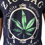 Gs-eagle-Mens-Printed-Weed-Marijuana-Cigarette-Graphic-Design-T-Shirts-0-2