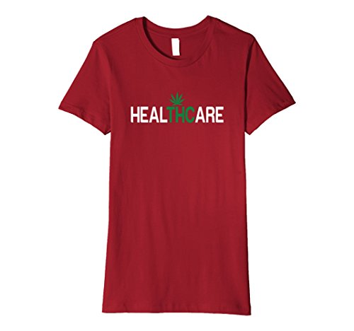 Medical-Marijuana-HealTHCare-Fitted-T-Shirt-THC-Colors-0