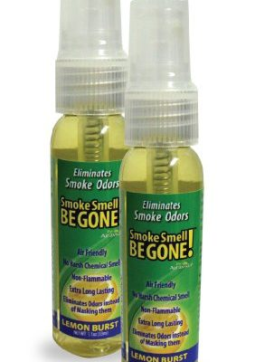 Smoke-Smell-Be-Gone-Smoke-Odors-Eliminator-for-Home-Office-Car-Natural-Non-Aerosol-Air-Freshener-11oz-33ml-Lemon-Scent-Pack-of-2-0