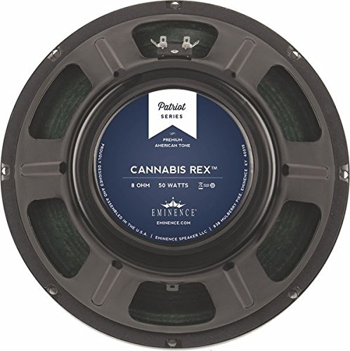 Eminence Patriot Cannabis Rex 12″ Guitar Speaker with Hemp Cone, 50 Watts at 8 Ohms