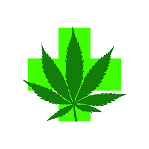 Medical Marijuana Sticker Decal Vinyl bud cannabis 420 FA Vinyl