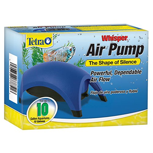 Tetra 77851 Whisper Air Pump, 10-Gallon