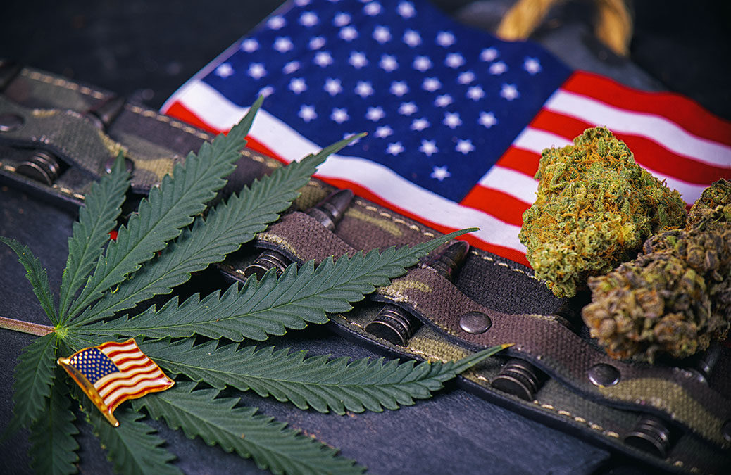 Veterans Turning to Medical Cannabis Over Alcohol or Prescription Drugs